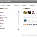 Are LinkedIn targeted status updates going to make a difference?