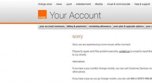 Broken Orange website (again)