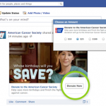 Will the donate button reduce slacktavism?