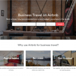 Can AirBnB crack the corporate market?