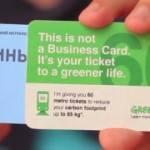 Greenpeace bringing a modern twist to the business card