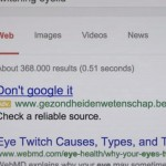 Campaign asks patients to stop Googling for information