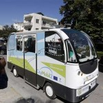 Trials begin of driverless buses in Greece