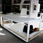 The sleeping desk and other workplace trends