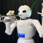 Researchers work on robot jazz player