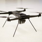 Tethered drone offers unlimited flying time