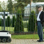 Might autonomous deliveries be coming on land rather than in the sky?
