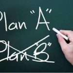 Should you go without a plan B?