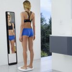 Smart mirror provides 3D body composition measurements
