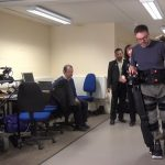 Robotic legs put through first UK clinical trial