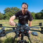Using drones for wildlife protection