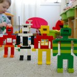 Robots who learn through play