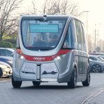 Autonomous vehicle demonstrates the future at Heathrow