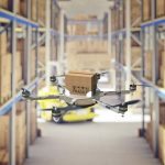 Using drones to conduct inventory audits